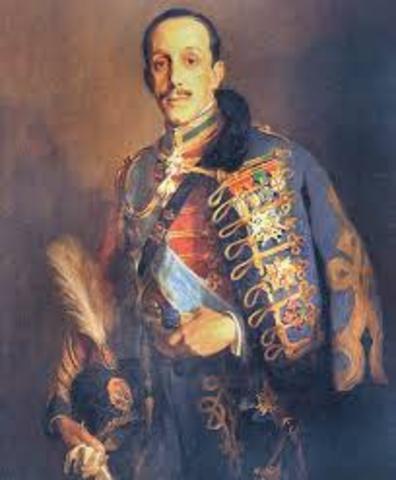 La monarquía de Alfonso XIII