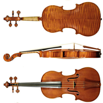 Evolución del violín timeline