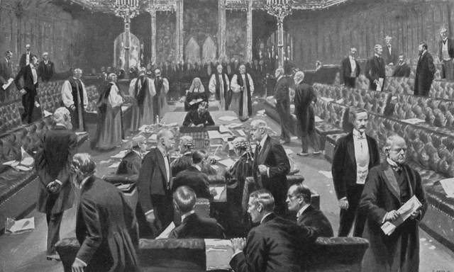Alexander Tilloch Galt, George-Étienne Cartier and John Ross travelled to Great Britain to present the British Parliament with a project for confederation of the British colonies