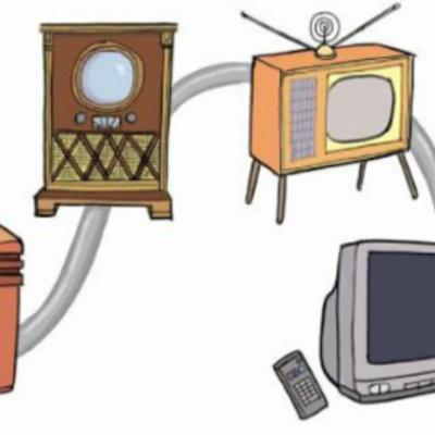 HISTORIA  DE LOS DISPOSITIVOS DE COMUNICACION timeline
