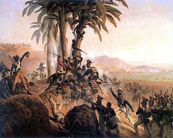 Haiti wins its freedom from France.