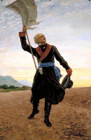 Padre Hidalgo calls tof the independance of Mexico.