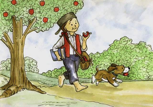 Worked as an orchardist and nursery man by himself