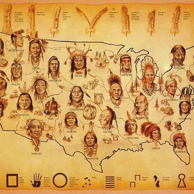Native American Timeline 1834-1890