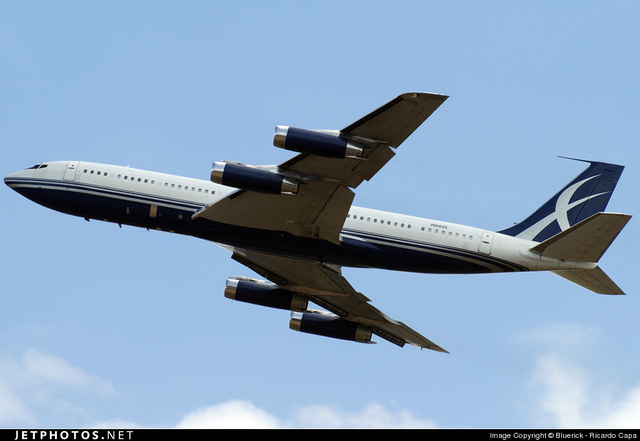 The Boeing 707-120 was invented