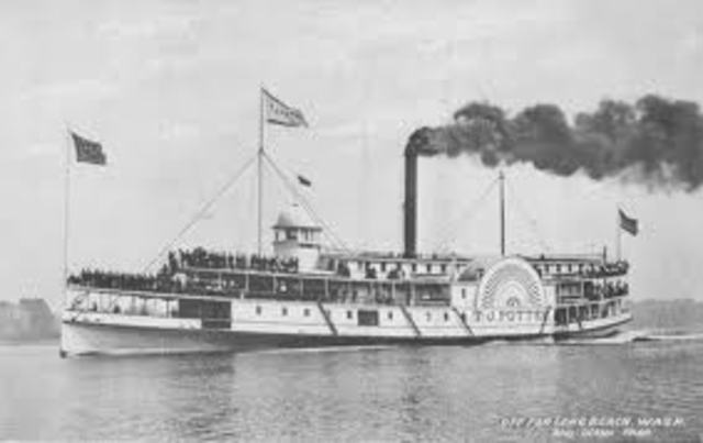 The first Steamboat