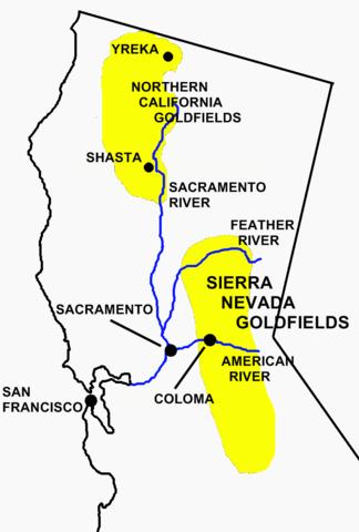 The Calfornia Gold Rush