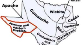 Texas Native Americans timeline
