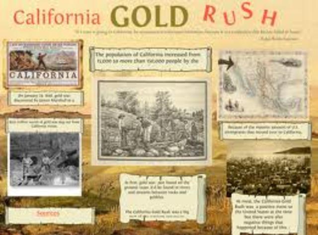 THE CALIFRONIA GOLD RUSH