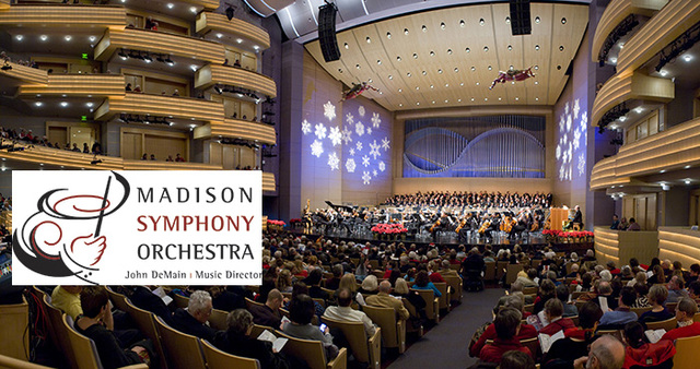 Madison Symphony Orchestra Christmas at The Overture Center for the Arts