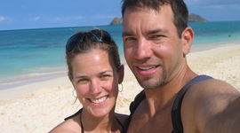 Dave and Tracey - How we met timeline