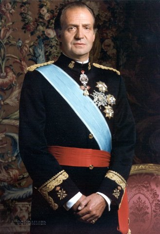 Coroncación de Juan Carlos