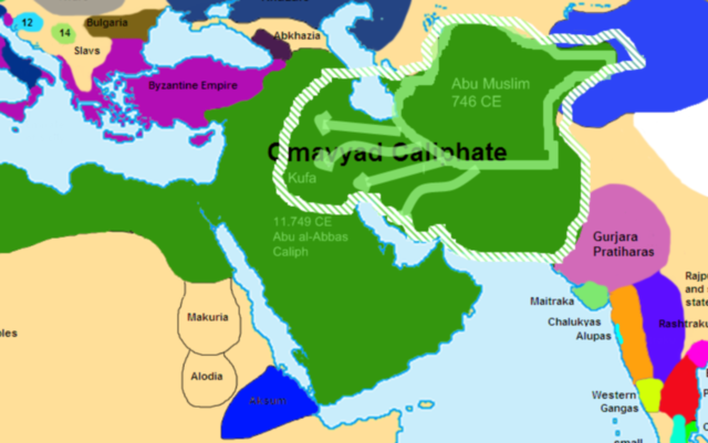 Abbasids move the capital of Islamic Empire