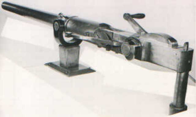Williams breech loaded rapid firing gun