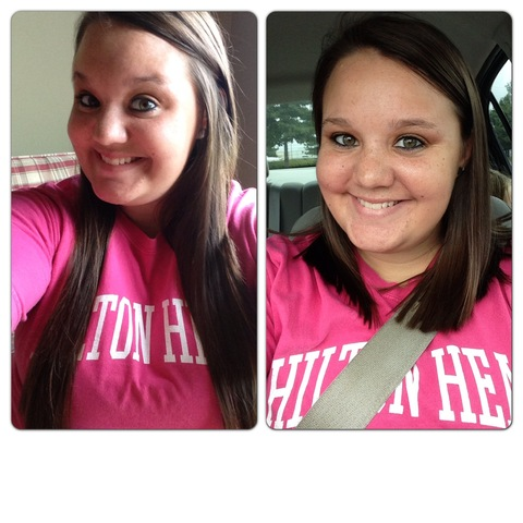 10 inches gone!