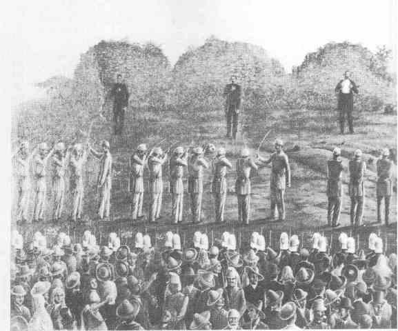 Fusilamiento en el Cerro de las Campanas
