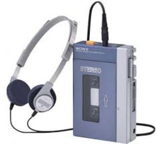 Mi primer Walkman.