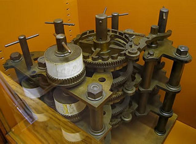 Чарльз Бэббидж начал работу над созданием, так называемой «разностной» машины