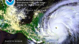 Hurricanes in the Gulf Coast during the Last 20 Years timeline