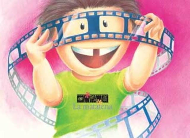 Su primera película en el cine.