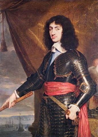 Charles II becomes King of England