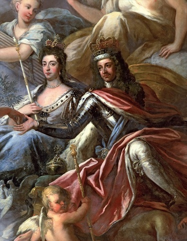 William and Mary become King and Queen of England