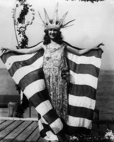 The First Miss America Pageant is Held