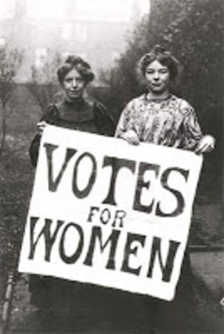 Political Changes for Women; A Recap
