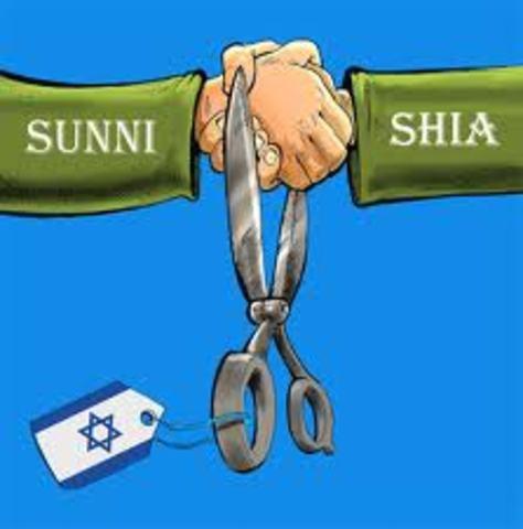Split of Sunni and Shia