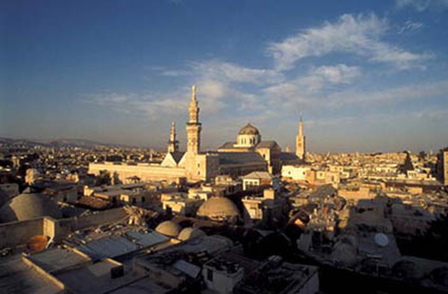 Damascus captured