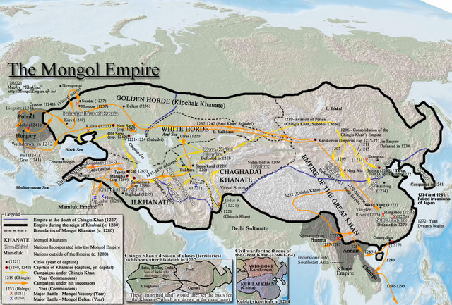 Mongols Conquered