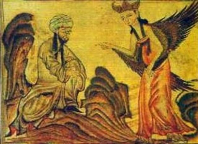 Gabriel Speaks To Muhammad