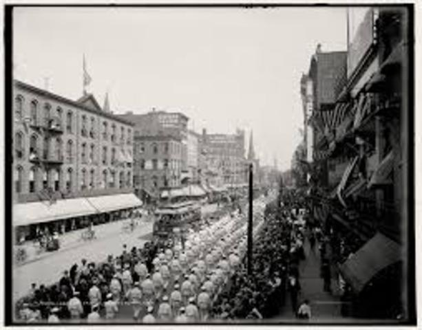 First Labor Day parade in New York City