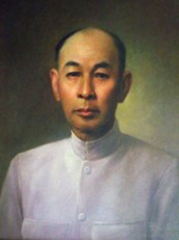 First Prime Minister in Siam