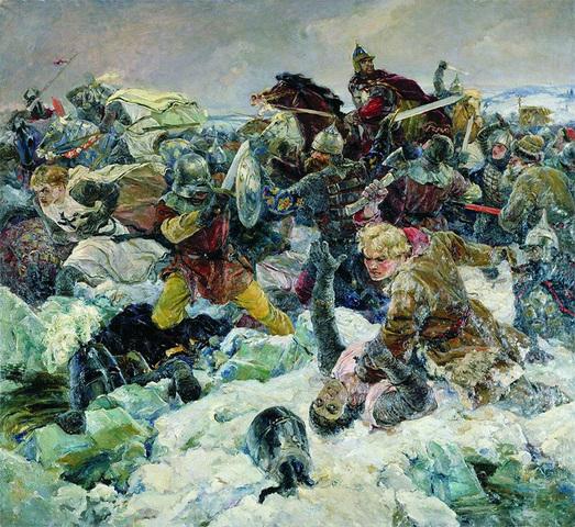 Невский очистил Новгород от врагов