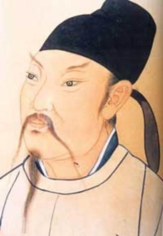 Poet Li Bo