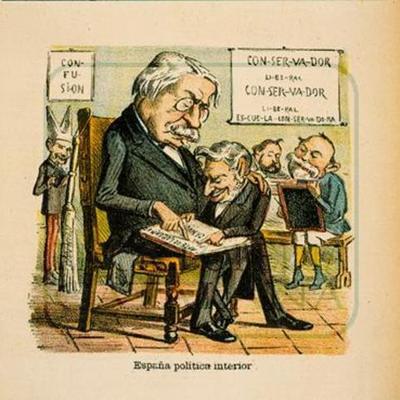 L'època de la Restauració borbònica (1875-1898) timeline