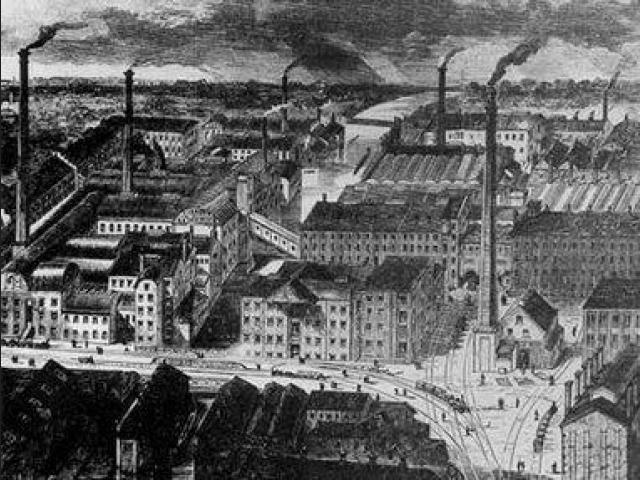 La primera Revolución industrial