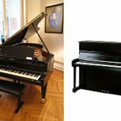 The History of piano timeline