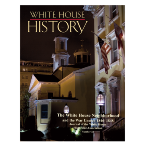 White House Historical Association published 'Diary of Elizabeth Dixon', Issue 33, White House History journal