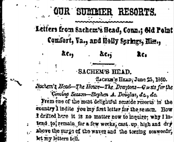 1860 Summer Resorts