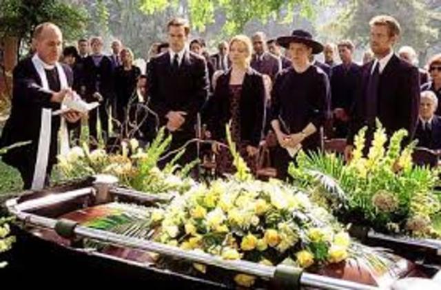 James' Mother Dies