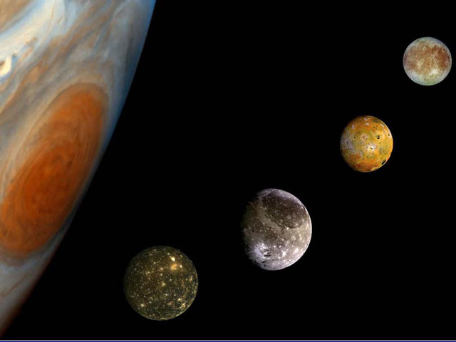 Galileo discverd Jupiters 4 moons