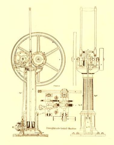 Steampunk historical reference points timeline for Who invented the electric motor in 1873