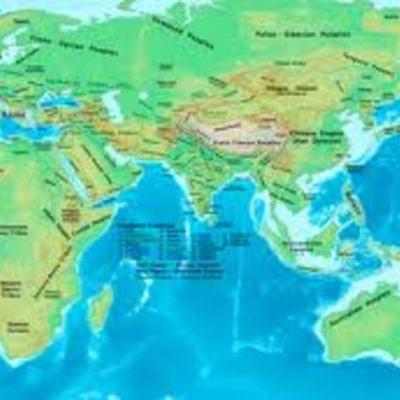 AP World History 600 CE - 1450 CE timeline