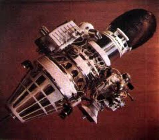 First space craft to land on moon