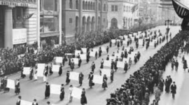 Suffrage-By: Savannah Broughton timeline