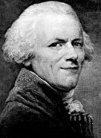 Maximilien Robespierre              Maximilien's Birth                  Earthquake in Palestine                  Great Fire of Boston                  Native Americans Surrender to British                  Stamp Act is passed                  Stamp Act Repealled                  Samuel Adams Spreads Propaganda                  Robespierre is educated.                  Gains Reputation                  Began to gain even more social and political standing.                  Robespierre becomes President of Jacobin Faction                  Robespierre has the king executed.                  Robespierre moves up the ranks.                  The Reign Of Terror                  Robespierre began to abuse his power.                  Maximilien's Death