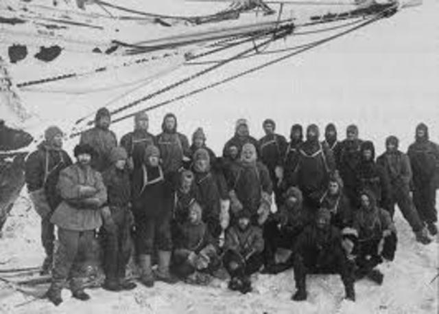 Ernest Shackleton saves his men