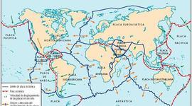 Historia de las placas tectonicas timeline